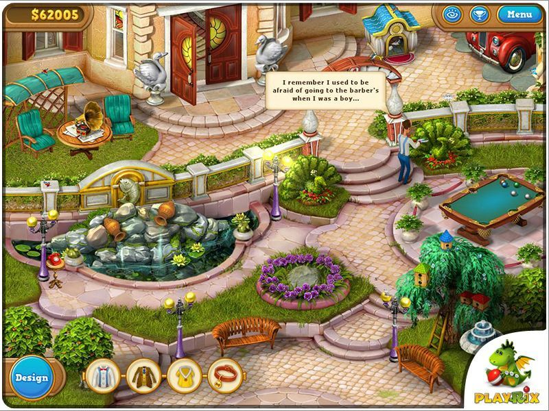 Screenshot 1 for Gardenscapes 2