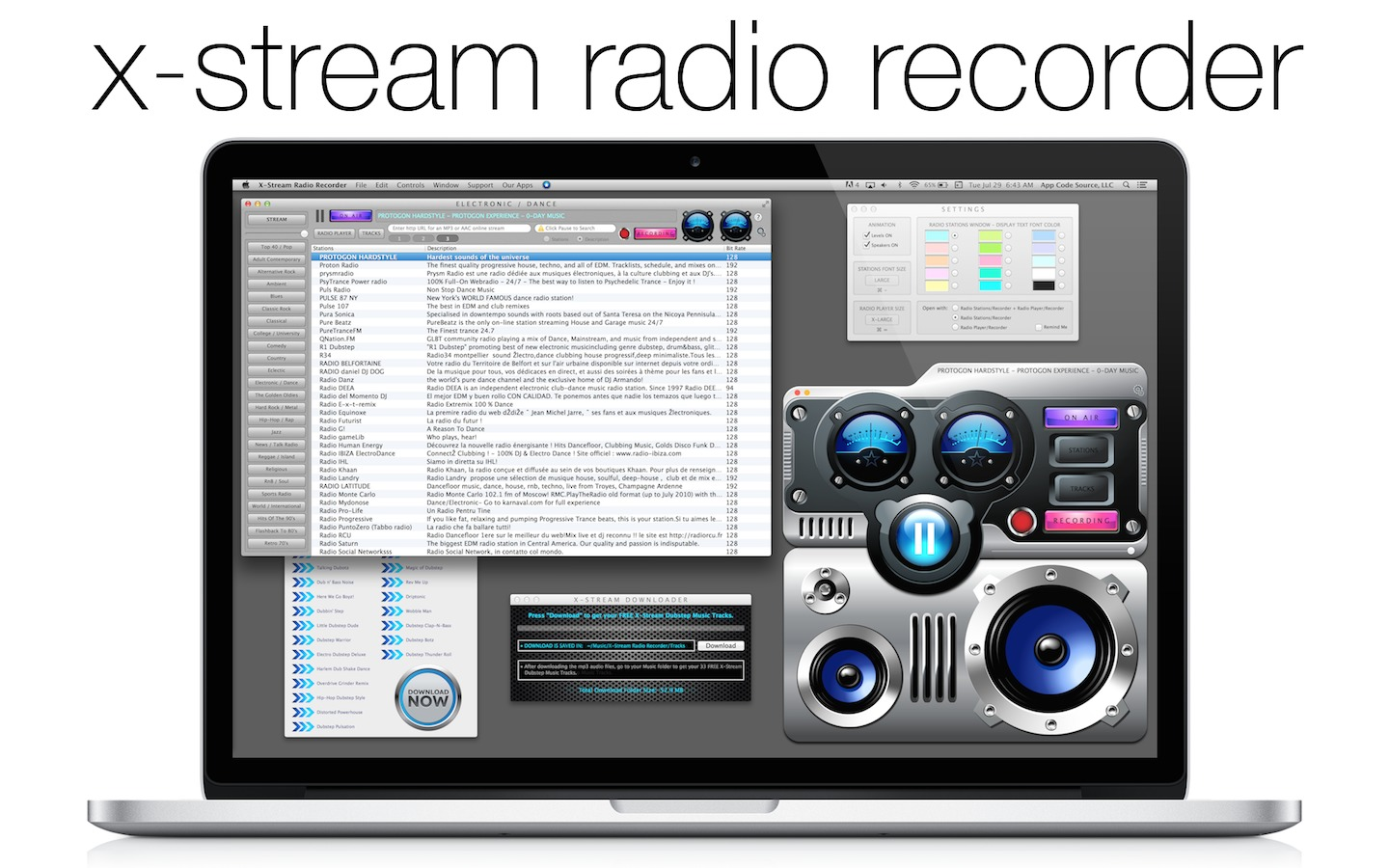 Screenshot 1 for X-Stream Radio Recorder