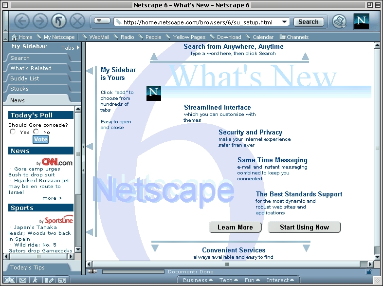 Screenshot 1 for Netscape