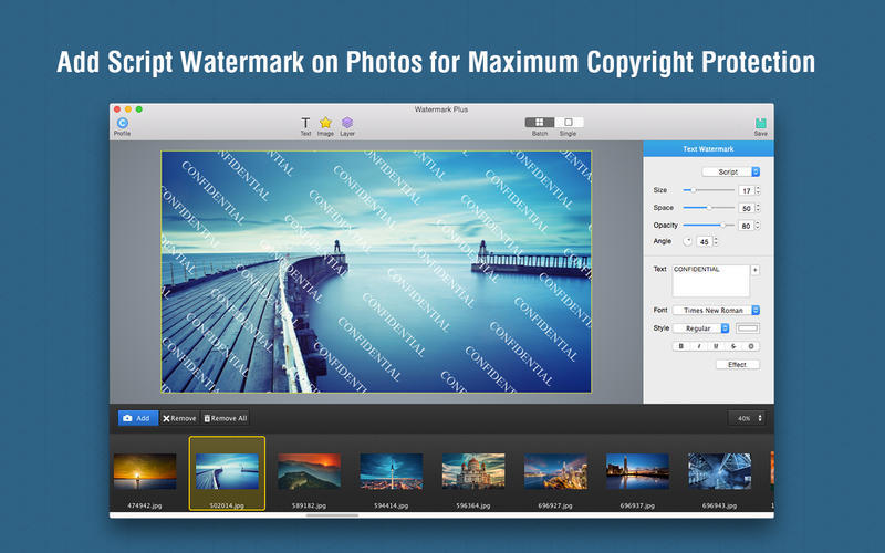 Screenshot 3 for Watermark Plus