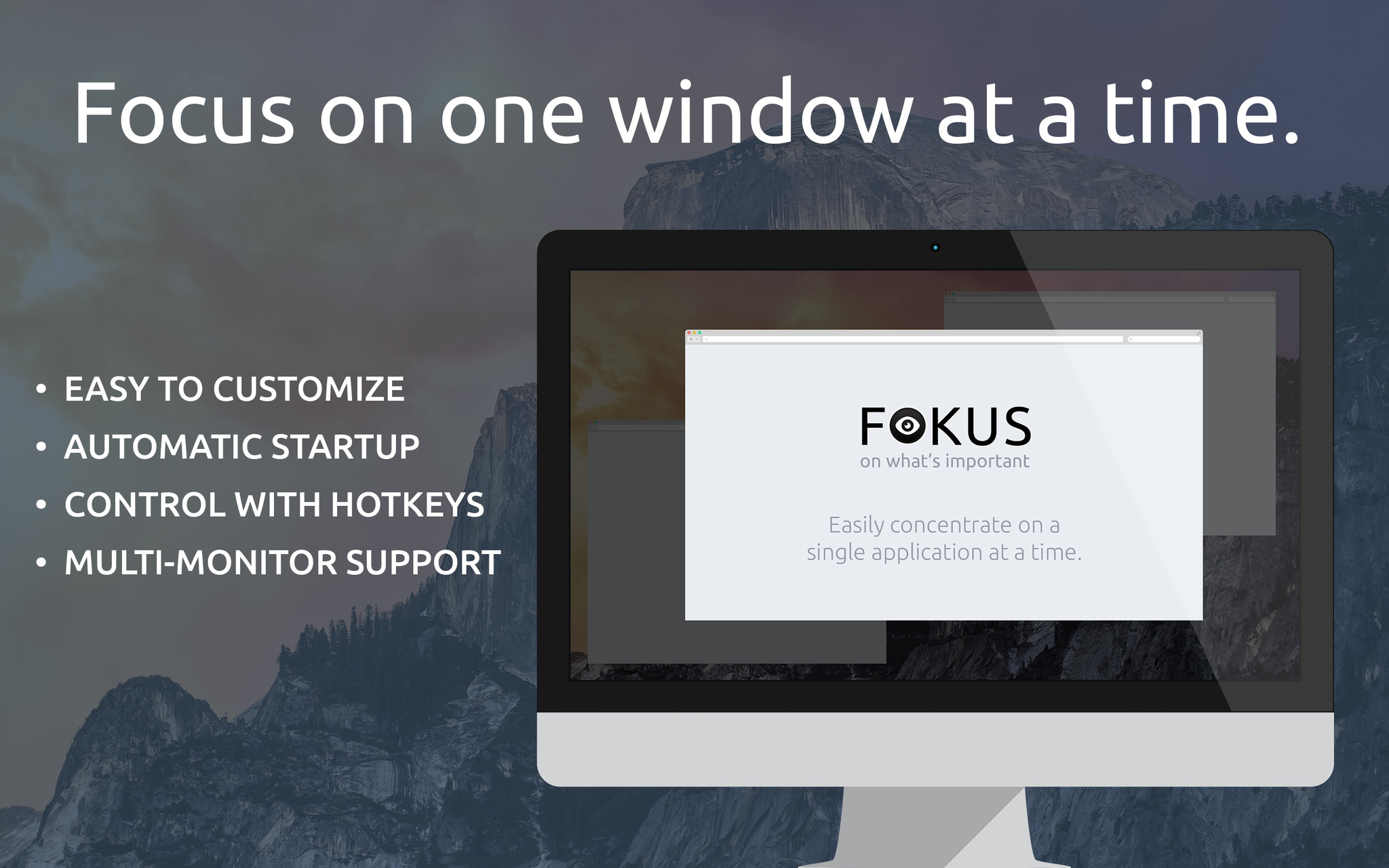 Screenshot 1 for Fokus