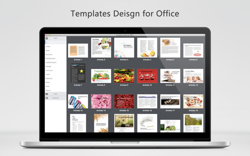 Screenshot 1 for Templates Design for Office