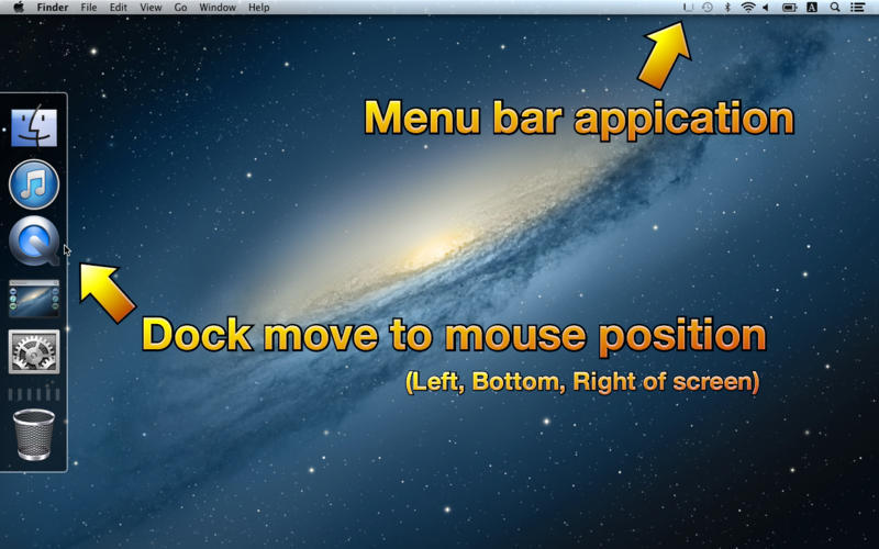Screenshot 1 for Moving Dock