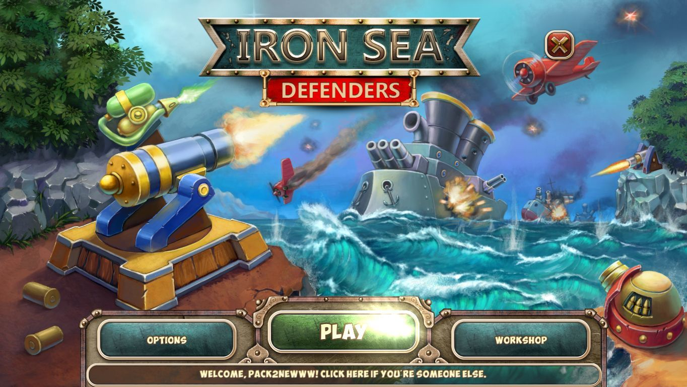 Screenshot 1 for Iron Sea Defenders