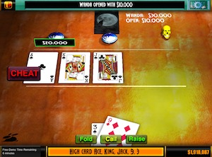 Screenshot 1 for Texas Howled Em Poker