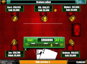 Screenshot 3 for Texas Howled Em Poker
