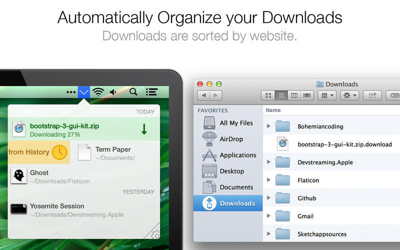 Screenshot 1 for Download Organizer