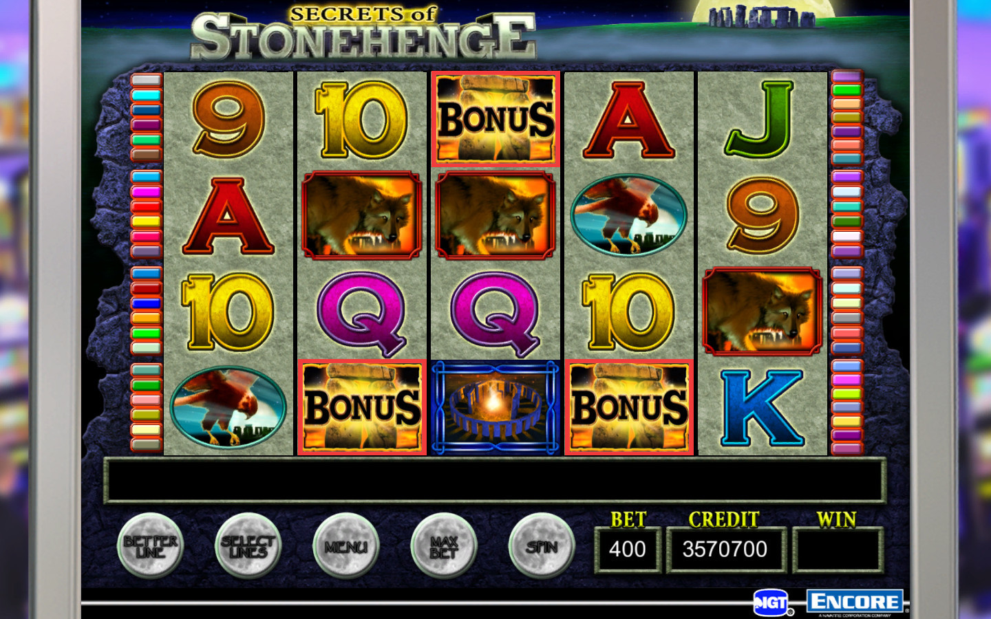 Screenshot 4 for IGT Slots Aztec Temple