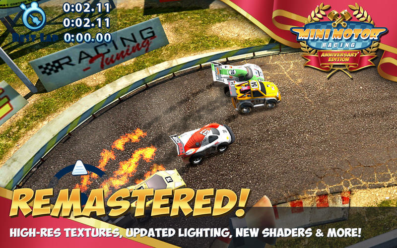 Screenshot 2 for Mini Motor Racing