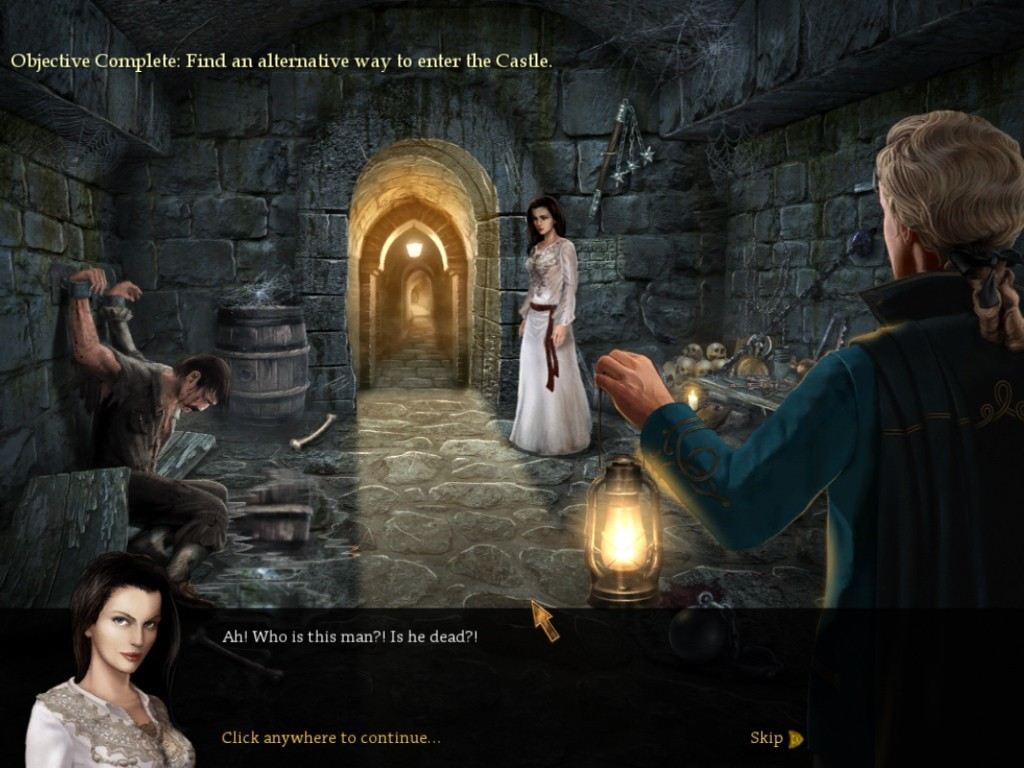 Screenshot 1 for Vampire Legends: The True Story of Kisilova