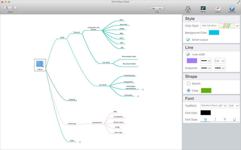 Screenshot 3 for Mind Map Pro