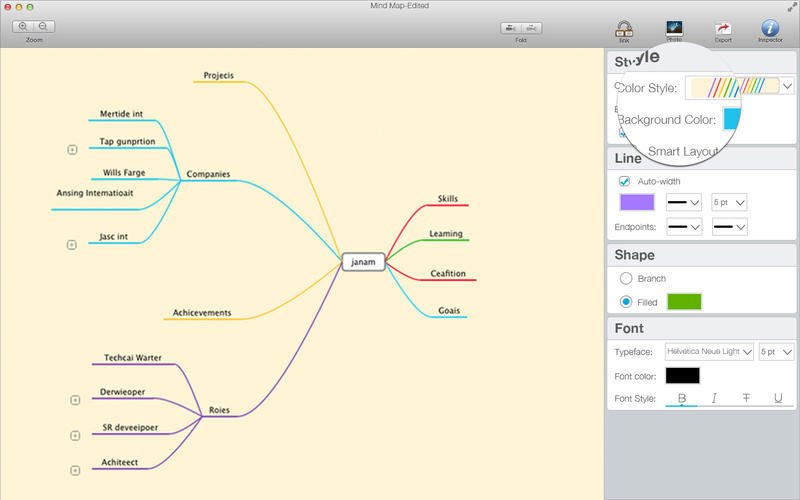 Screenshot 4 for Mind Map Pro