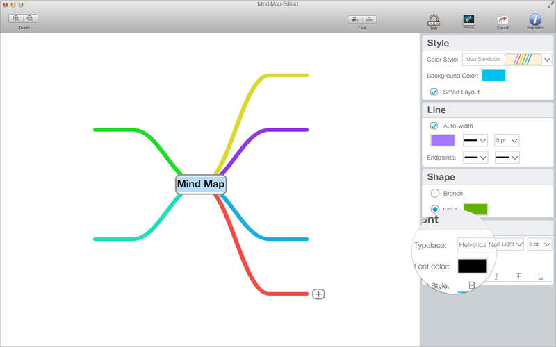 Screenshot 5 for Mind Map Pro