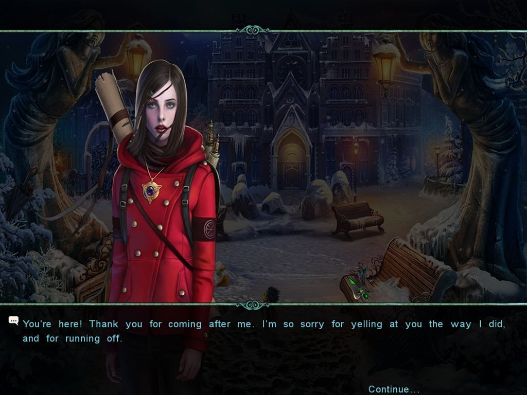 Screenshot 1 for Witches' Legacy: Lair of the Witch Queen CE