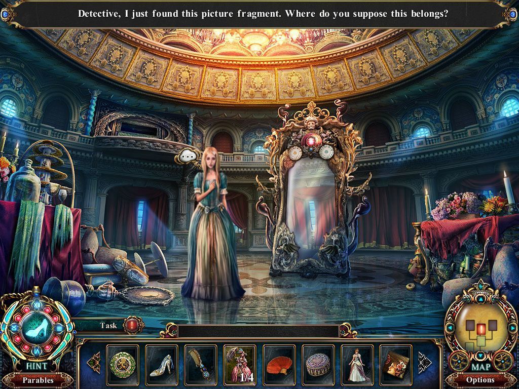 Screenshot 1 for Dark Parables: The Final Cinderella