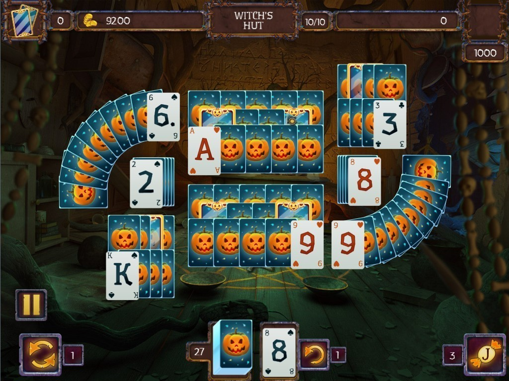 Screenshot 1 for Solitaire Game Halloween