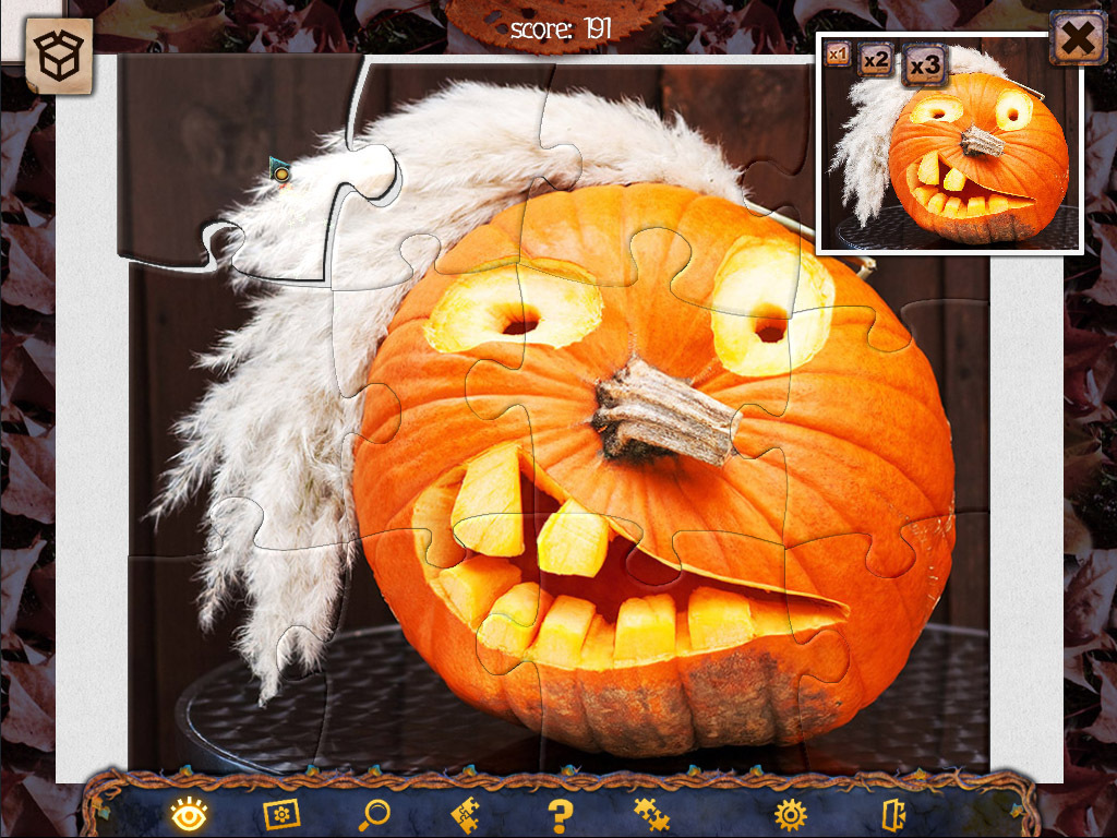 Screenshot 1 for Holiday Jigsaw Halloween 2