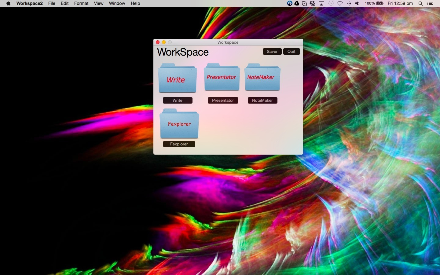 Screenshot 1 for Workspace