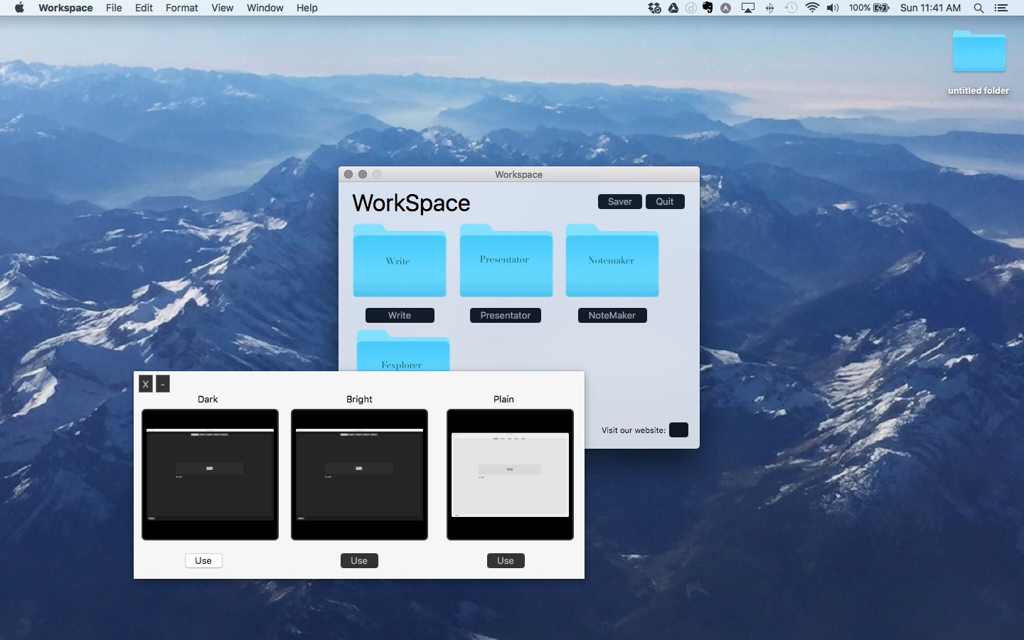 Screenshot 3 for Workspace