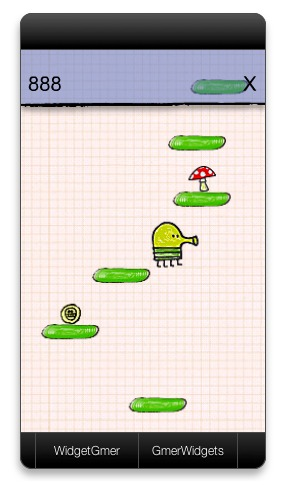 Screenshot 1 for DoodleJump