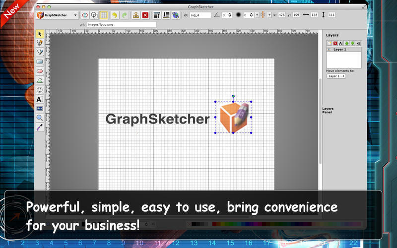 Screenshot 1 for GraphSketcher
