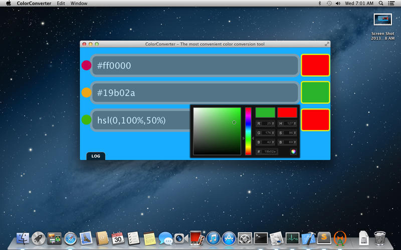 Screenshot 1 for ColorConverter