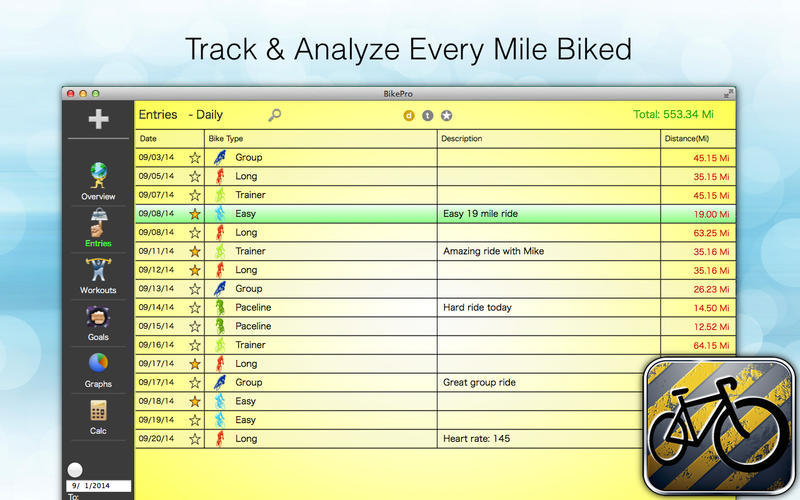 Screenshot 2 for BikePro