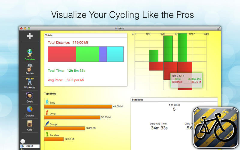 Screenshot 3 for BikePro