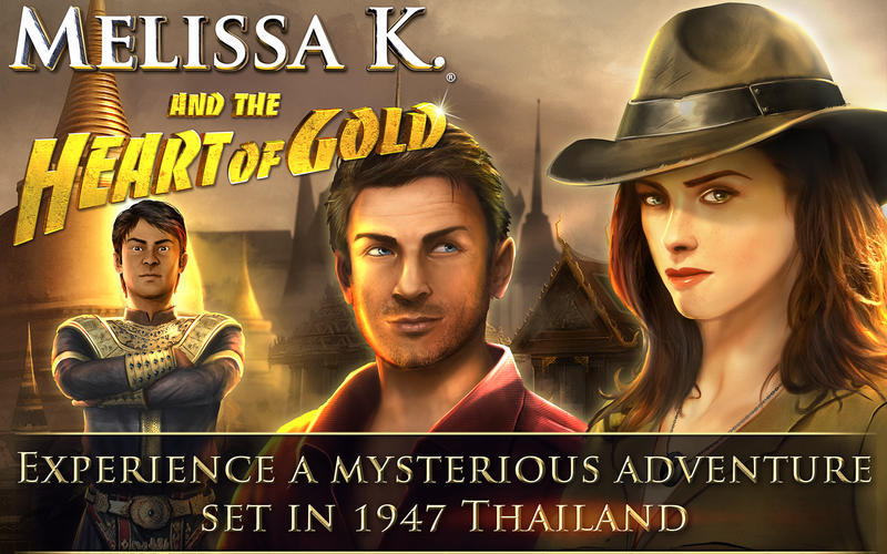 Screenshot 1 for Melissa K. and the Heart of Gold HD Collector's Edition