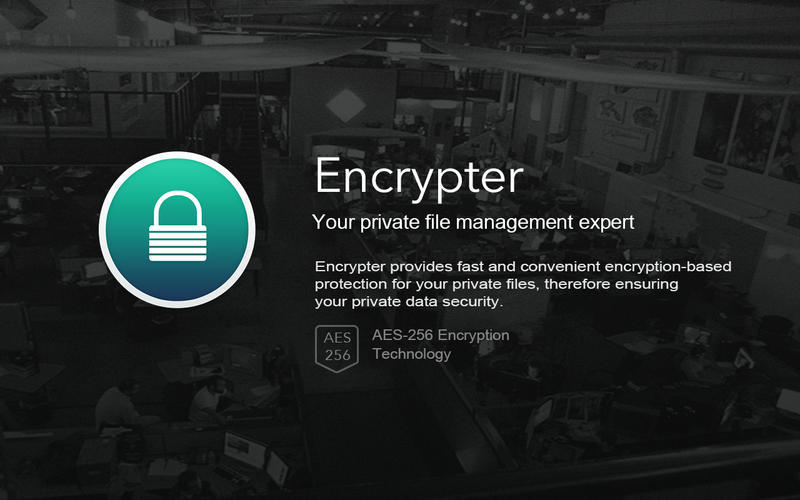Screenshot 1 for Encrypter Lite