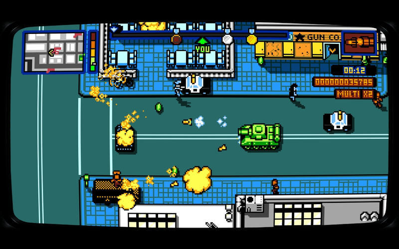Screenshot 2 for Retro City Rampage DX
