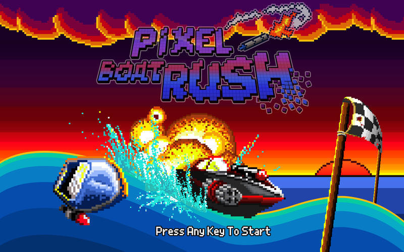 Screenshot 1 for Pixel Boat Rush