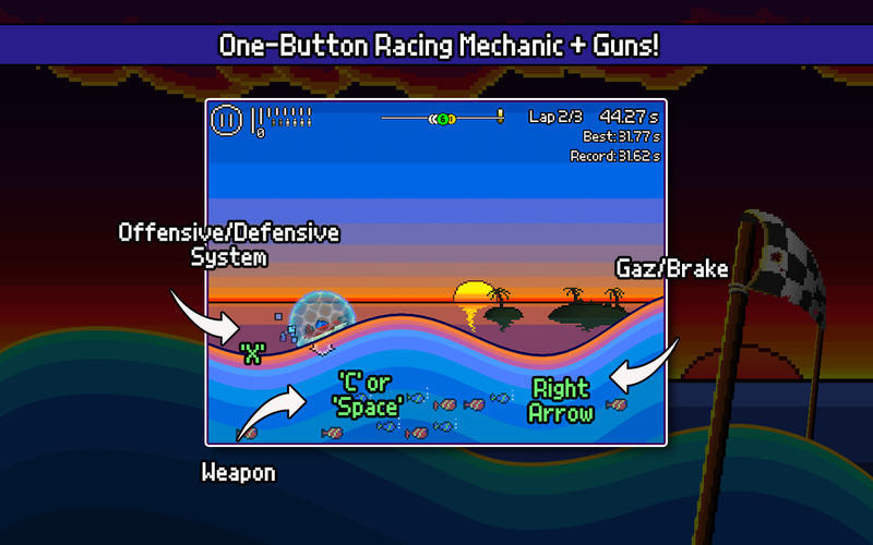 Screenshot 5 for Pixel Boat Rush