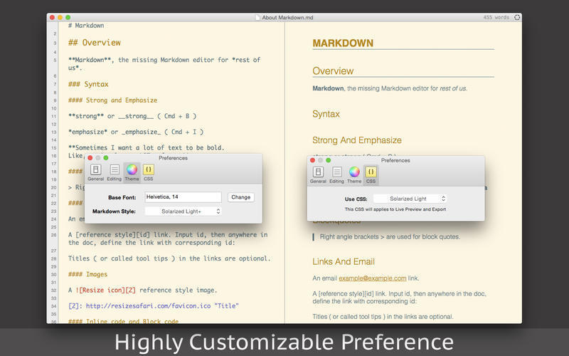 Screenshot 4 for Markdown