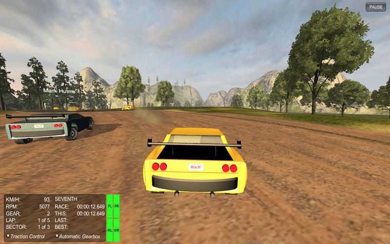 Screenshot 1 for RacR