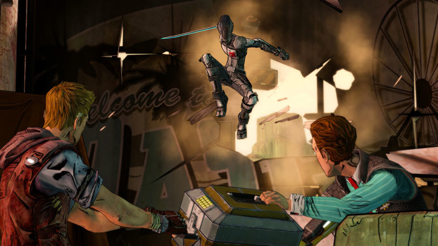 Screenshot 2 for Tales from the Borderlands - A Telltale Games Series