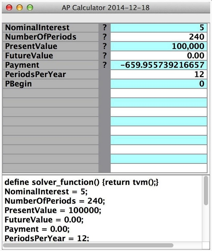 Screenshot 2 for APCalculator