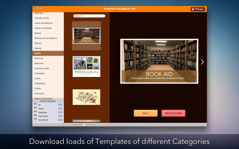 Screenshot 2 for Templates for Microsoft PowerPoint