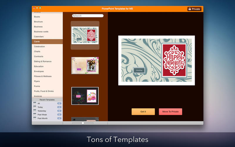 Screenshot 4 for Templates for Microsoft PowerPoint
