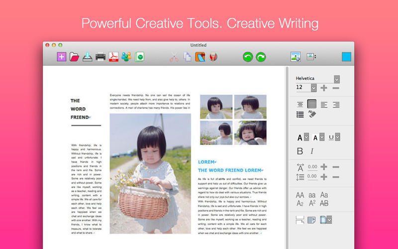 Screenshot 1 for iWord