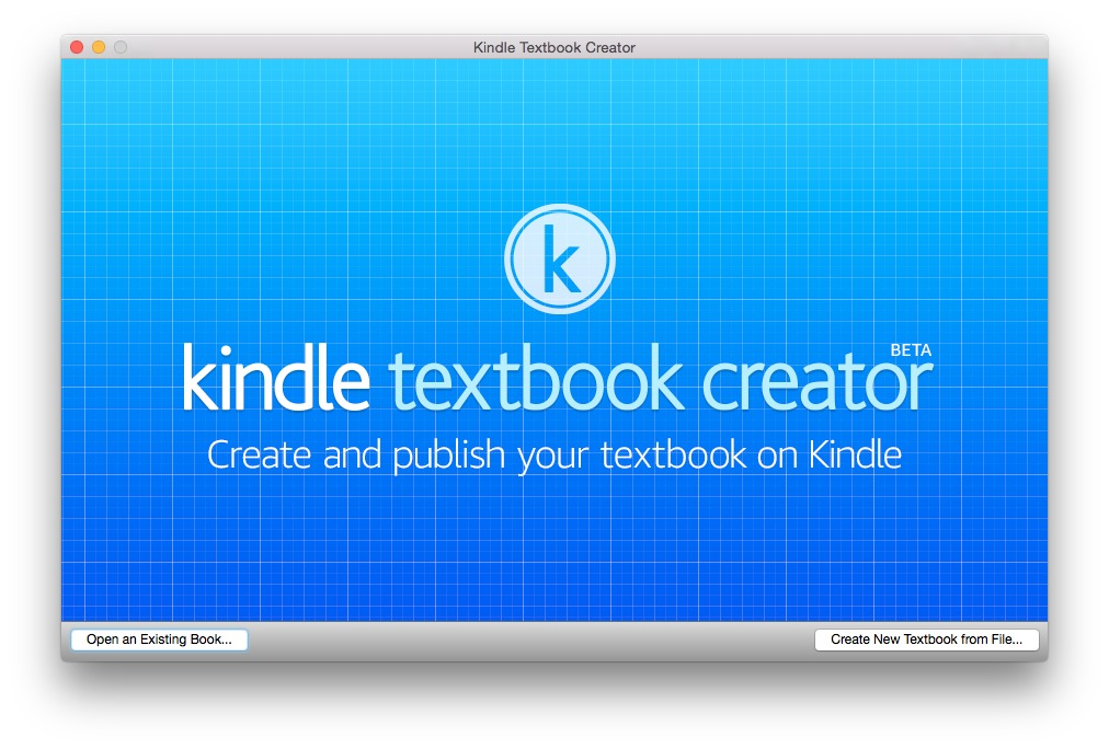 Screenshot 1 for Kindle Textbook Creator