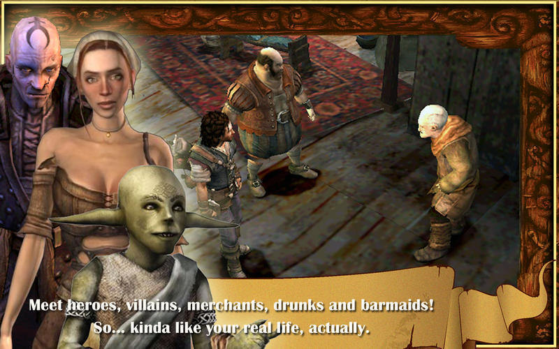 Screenshot 2 for The Bard's Tale