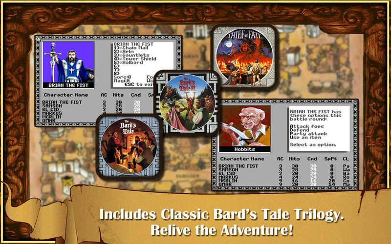 The Bard's Tale for Mac - Free Download Version 1 3 4