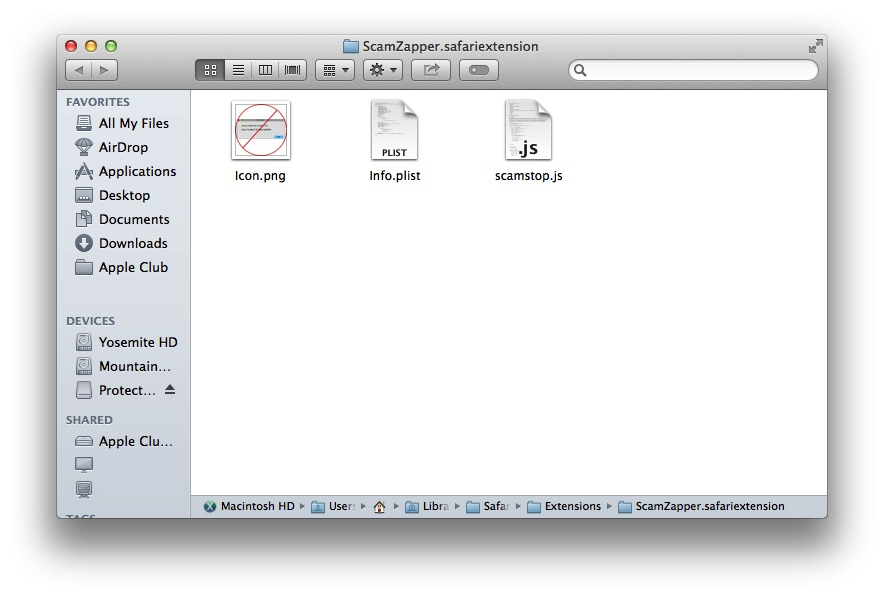 Screenshot 1 for Extension Unpacker