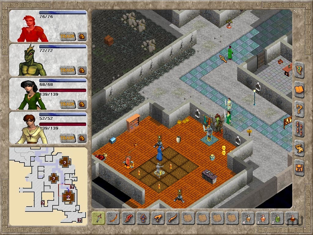 Screenshot 1 for Avernum 4