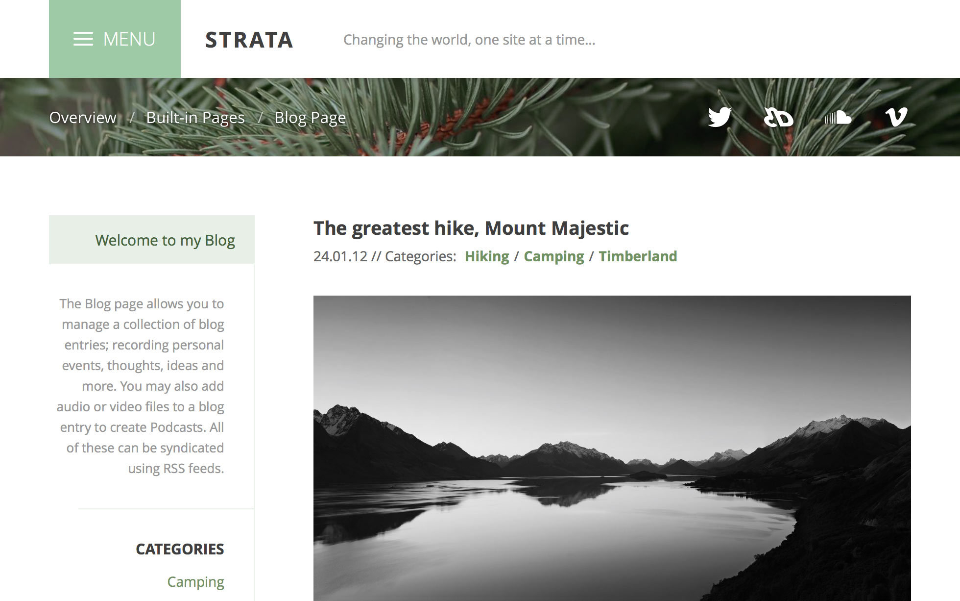 Screenshot 1 for Strata