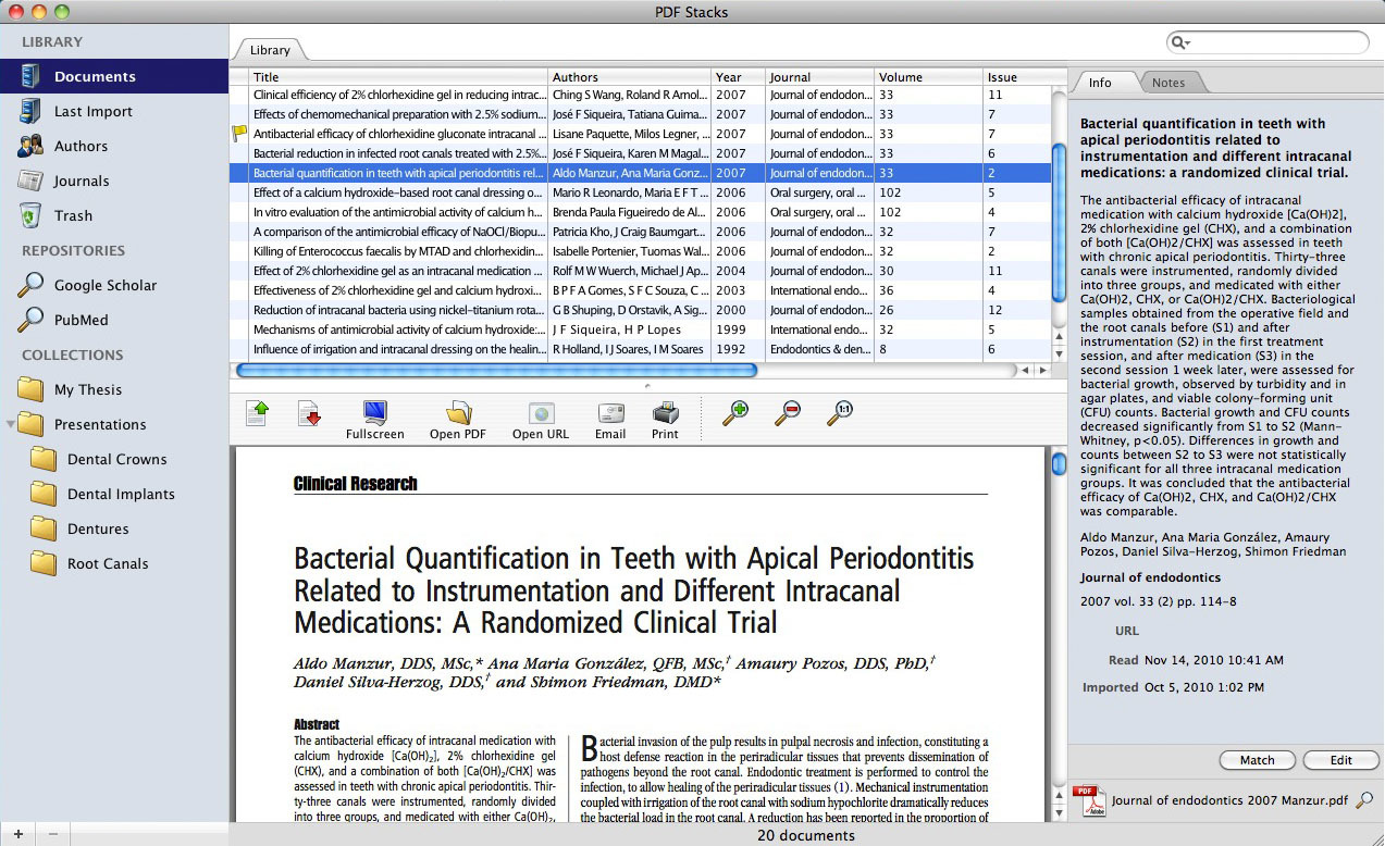 Screenshot 1 for PDF Stacks