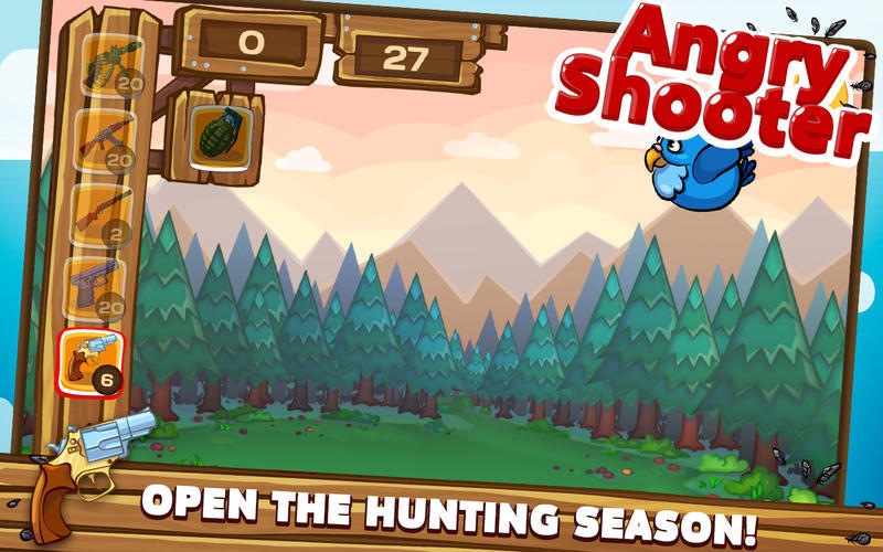 Screenshot 1 for Angry Shooter PRO