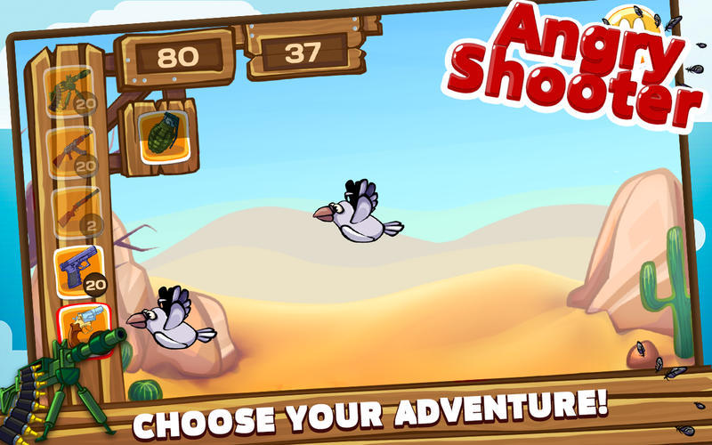Screenshot 2 for Angry Shooter PRO