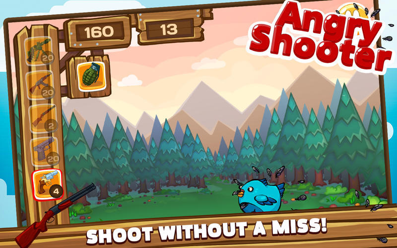 Screenshot 4 for Angry Shooter PRO